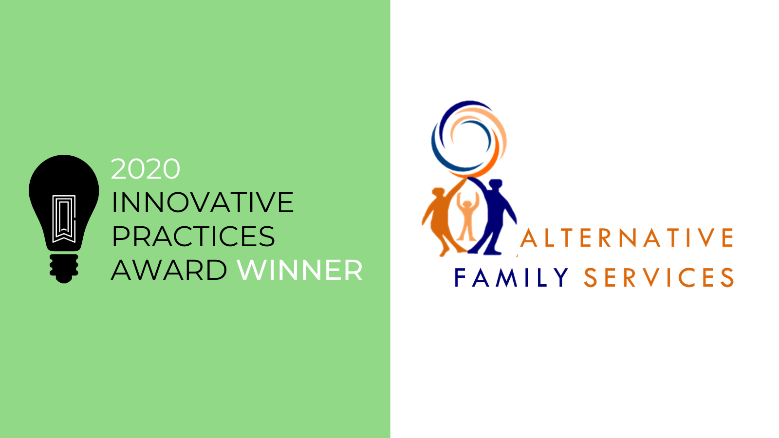Alternative Family Services wins COA's 2020 Innovative Practices Award